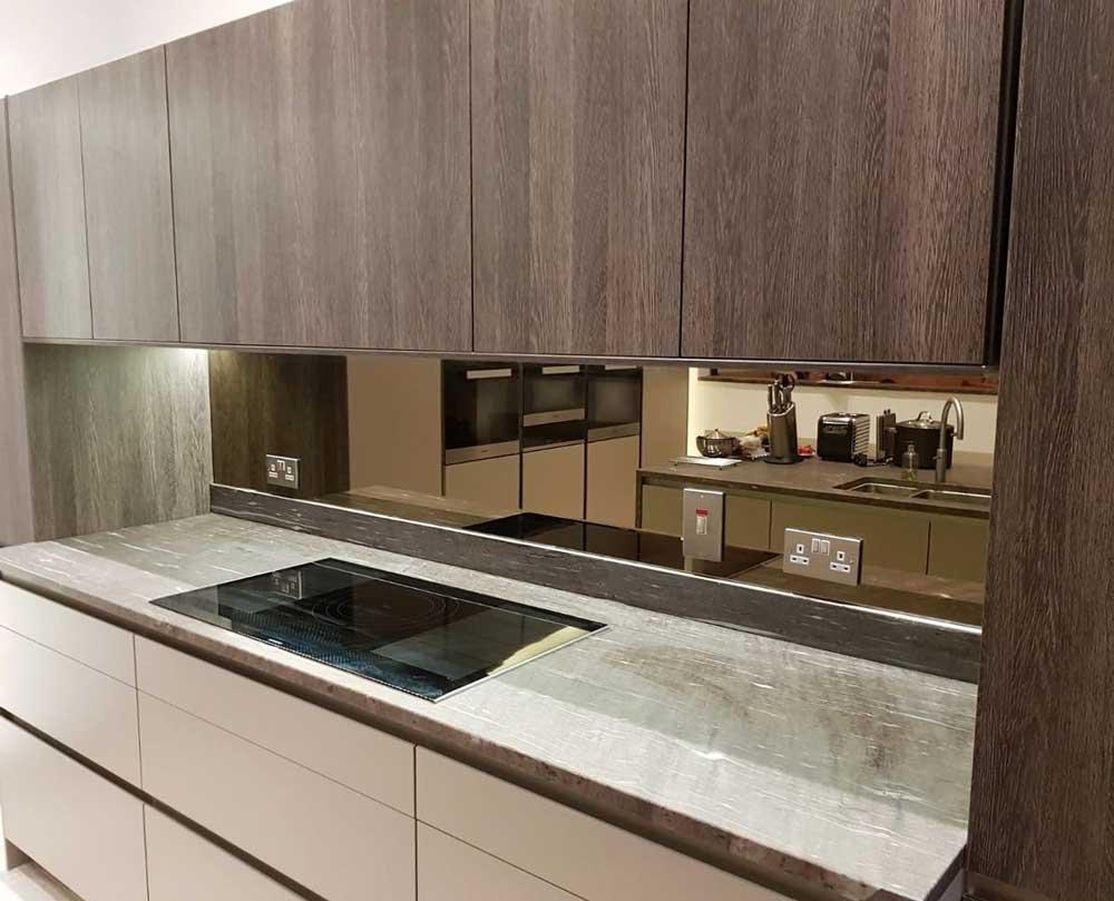 Mirrored Glass Splashback | Melbourne Splashbacks
