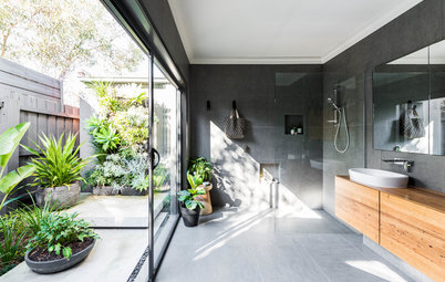 Beautiful Bathroom with Frameless Shower Screen